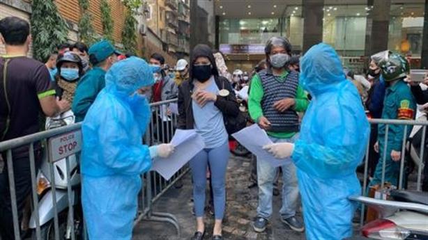 Hơn 300 người ở 88 Láng Hạ không về làm xét nghiệm