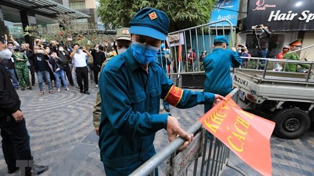 Sáng thứ hai Việt Nam không ghi nhận ca mắc mới COVID-19