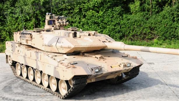 Leopard 2 sẽ được trang bị tổ hợp Trophy của Israel