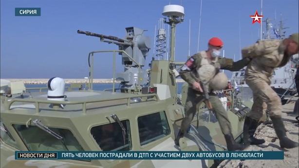 Nga diễn tập phòng Tartus bị tấn công