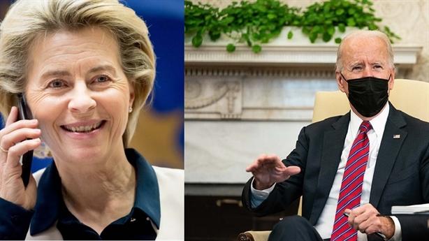 Điện đàm Biden-EU: Kỳ vọng giảm áp thuế đồng minh