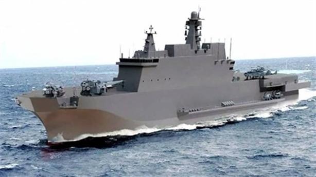 Bí ẩn sau kích thước tàu đổ bộ siêu lớn của Nga