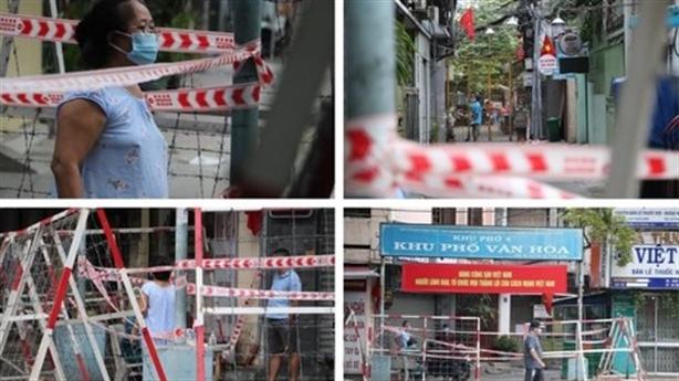 Hà Nội, TP.HCM được giãn cách xã hội một số khu vực