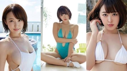 Siêu vòng một tóc ngắn gợi cảm nhất Nhật Bản