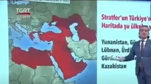 Nga cứng rắn khi Thổ công bố bản đồ bao trùm Crimea