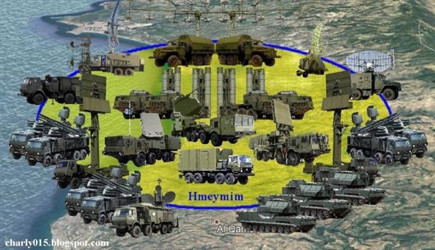 Phòng không tại căn cứ Hmeimim đạt cấp độ 'bão hòa'
