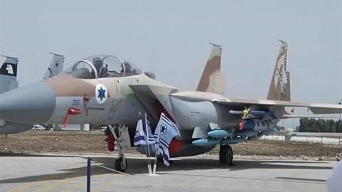 Israel tấn công ngay khi tên lửa đạn đạo Iran tới Syria