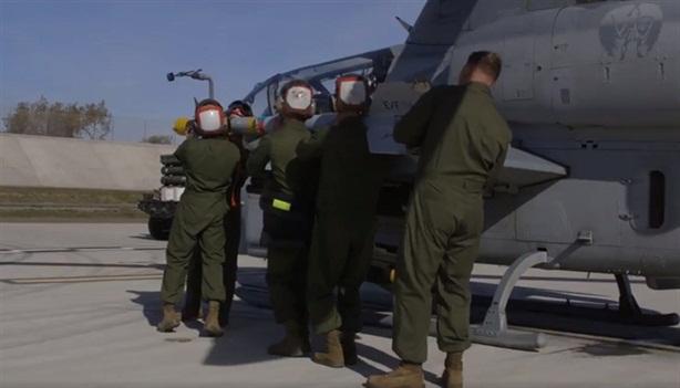 Pha đánh chặn của AH-1Z không kém Apache