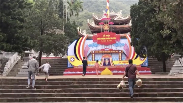 Đưa chui khách vào lễ chùa Hương Tích: Đóng cửa chùa