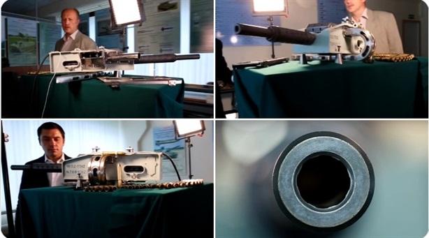 Pháo tự động R-23M được lắp trên trạm vũ trụ