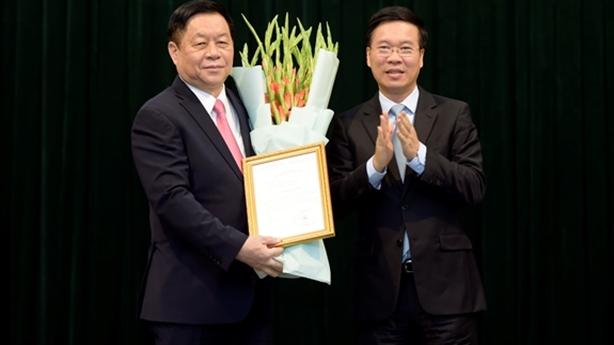 Tướng Nguyễn Trọng Nghĩa làm Trưởng Ban Tuyên giáo Trung ương