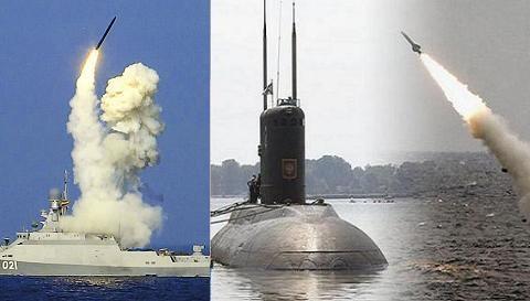 Mục đích Nga tăng chiến hạm mang Kalibr tại Biển Đen?