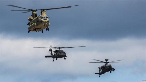 Mỹ - Hy Lạp dồn 150 trực thăng tập trận gần Thổ