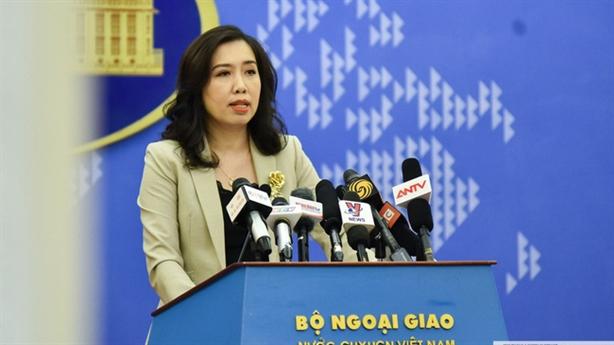 Việt Nam lên tiếng về tình hình Biển Đông