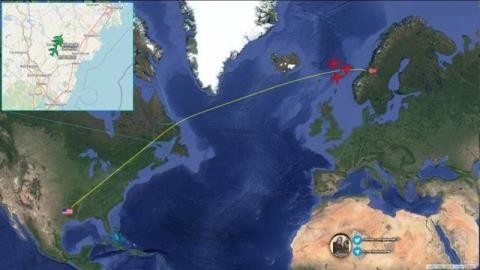 B1-B tại Na Uy: Khẩu súng kề thái dương hạm đội Nga