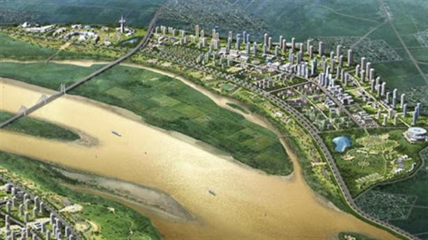 Bước tiến lớn của quy hoạch phân khu sông Hồng