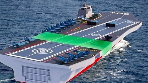 Nga có cách tiếp cận đặc biệt để đóng tàu sân bay