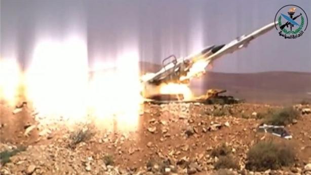 Phòng không Syria đánh chặn tên lửa Delilah