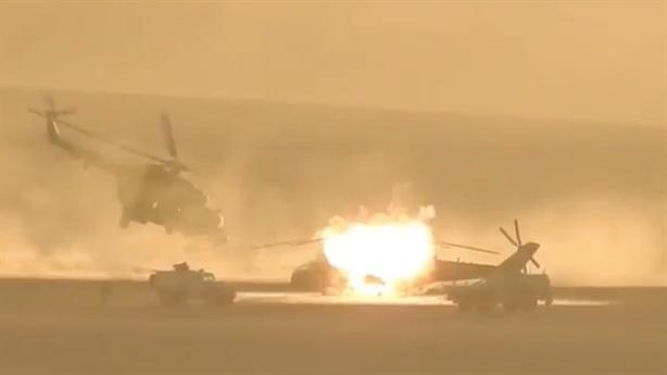 Nguyên nhân chiếc Mi-35 Nga gặp nạn tại điểm nóng Syria