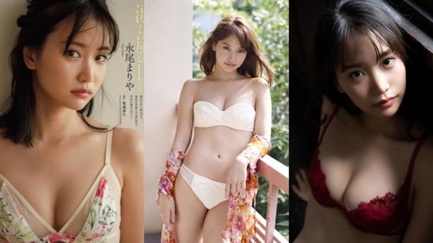 Mỹ nhân Nhật đẹp tuyệt trần lại quá gợi cảm