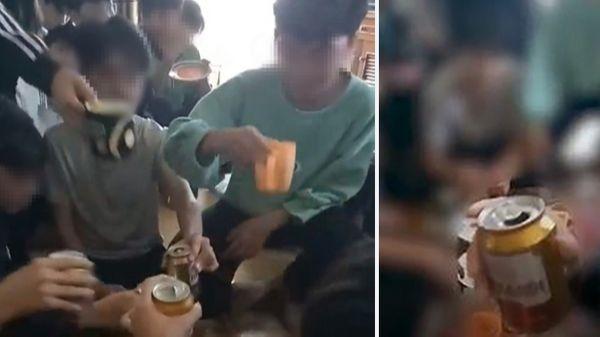Clip cô giáo cổ vũ học sinh uống bia: Người khắt khe?