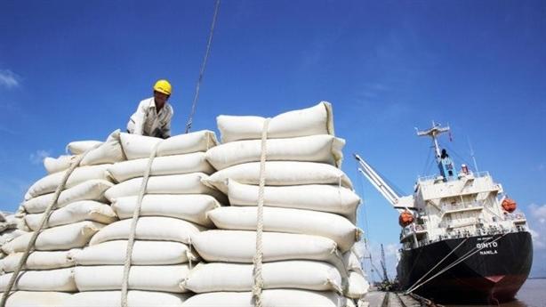 Giá gạo 5% tấm xuất khẩu Việt Nam cao hơn Thái Lan