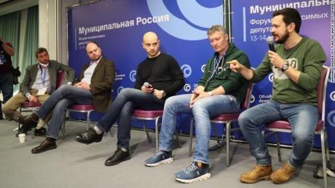 Moscow bắt giữ 200 người hoạt động 'diễn đàn dân chủ...'