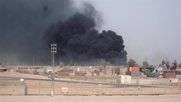 Căn cứ Mỹ bị 5 quả tên lửa đánh trúng