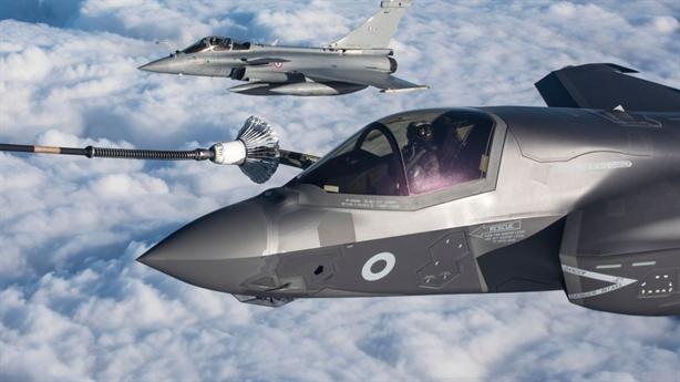 Anh lo F-35 bị EW áp chế trên Địa Trung Hải