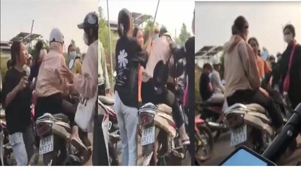Nữ sinh bị đánh hội đồng bằng gậy sắt, mũ bảo hiểm