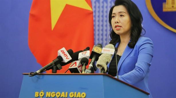Việt Nam yêu cầu Trung Quốc chấm dứt xâm phạm chủ quyền