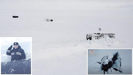 Hải quân Nga thực hiện những điều không tưởng ở Bắc Cực