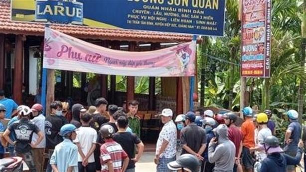 Tin mới vụ án mạng 3 người thương vong ở Quảng Nam