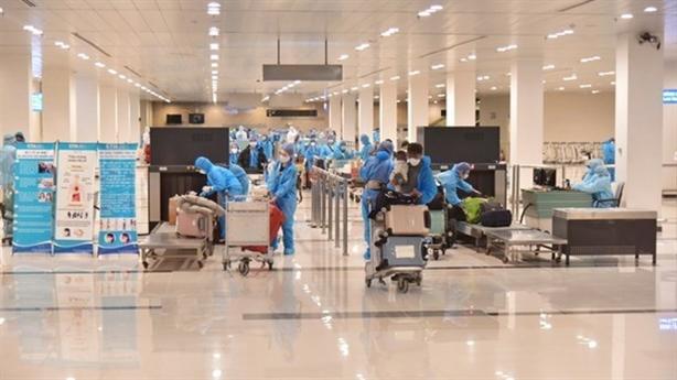 89 người Hà Nội trên chuyến bay VJ458 âm tính lần 1