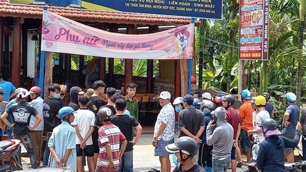 Án mạng ở Quảng Nam: 'Thấy vợ cũ ngủ với đầu bếp'
