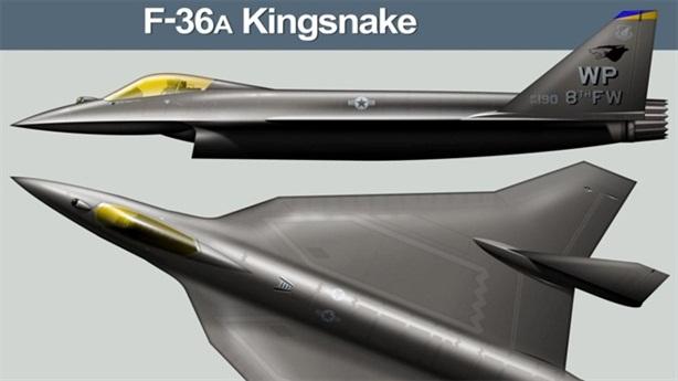 F-36 Kingsnake, chiến đấu cơ tương lai của Không quân Mỹ