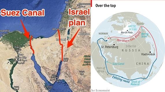 Tuyến đường biển phương Bắc-Nga khó thay thế kênh đào Suez