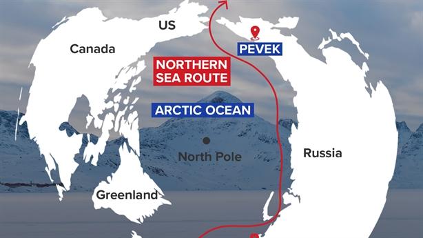Nga chi tiền giảm chi phí cho tuyến đường biển Bắc