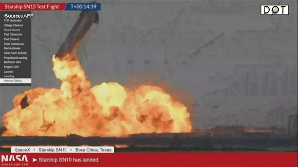 Rò rỉ nhiên liệu khiến tàu vũ trụ Starship phát nổ
