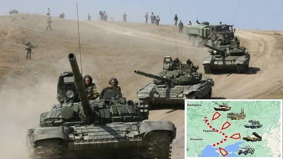 Nga tập trung binh lực, phá âm mưu Ukraine đánh chiếm Donbass?