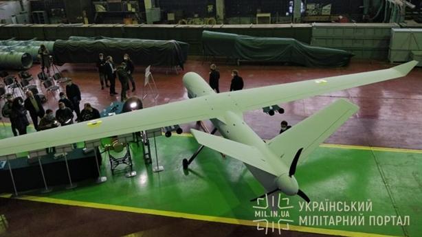 Ukraine sẵn sàng sử dụng UCAV hạng nặng tự sản xuất