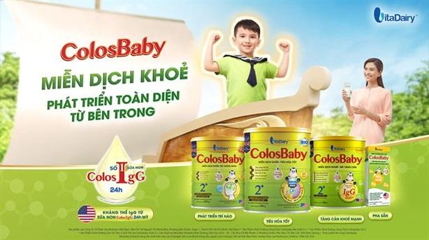 ColosBaby của VitaDairy - sữa công thức bổ sung sữa non