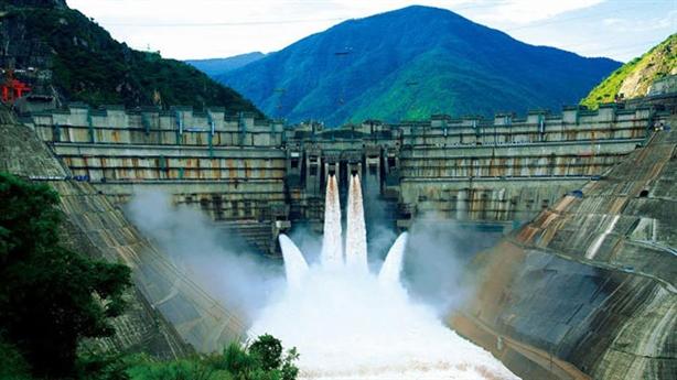 Nước sông Mekong ở Lào tăng đột ngột vào mùa khô