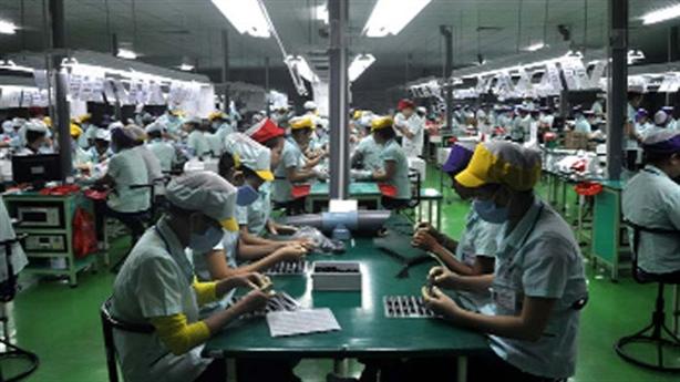 Công nghiệp điện tử Việt Nam: 95% giá trị thuộc FDI