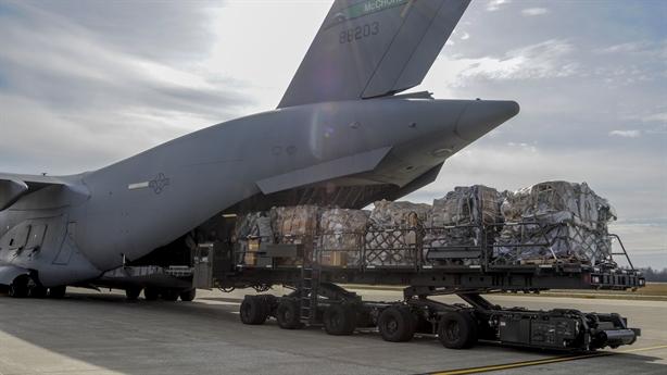 C-17 NATO chở gì đến Ukraine?