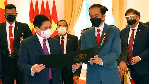 Việt Nam - Indonesia tăng cường hợp tác biển và đại dương