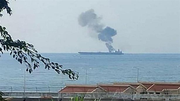 UAV tấn công tàu dầu bí ẩn ngoài khơi Syria