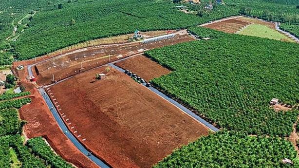 Kiểm tra đất phân lô bán nền gắn mác dự án BĐS