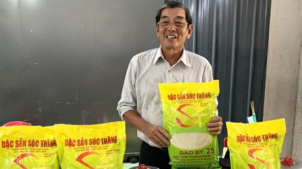 Thương vụ Việt Nam hỗ trợ đòi thương hiệu gạo ST25