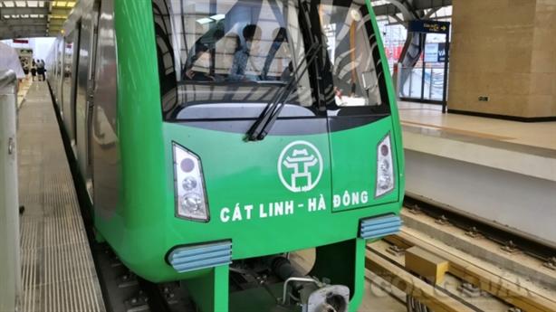Vì sao đường sắt Cát Linh-Hà Đông lại lỡ hẹn?